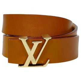 Louis Vuitton-Belts-Brown