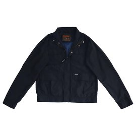 Woolrich-Vestes Blazers-Bleu Marine