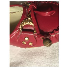 Balenciaga-Small heel 5 cm-Dark red
