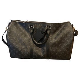 Louis Vuitton-Louis Vuitton keepall new-Grey