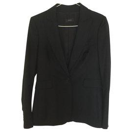 Joseph-Tailleur pantalon-Noir