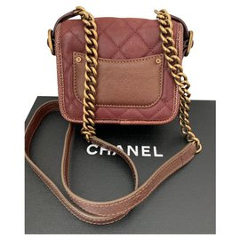 Chanel-Chanel-Dark red