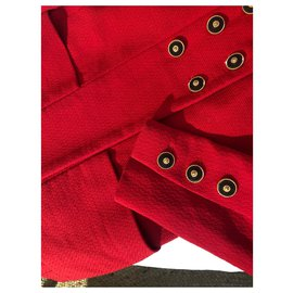 Chanel-Chanel red jacket-Red