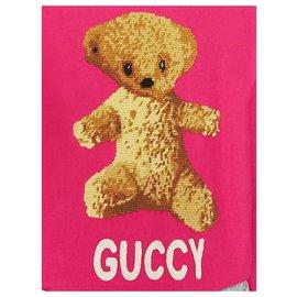 Gucci-Sweatshirt Gucci Ours en Peluche-Rose