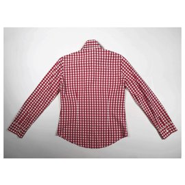 Burberry-Tops-Red