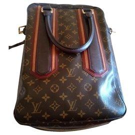 Louis Vuitton-Hand bags-Dark brown