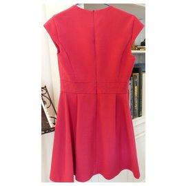 Ikks-Elegant dress IKKS-Pink