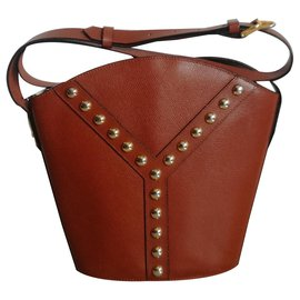 Yves Saint Laurent-Beautiful YSL bucket bag in excellent condition-Brown
