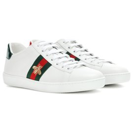 Gucci-gucci Ace embroidered sneakers-White