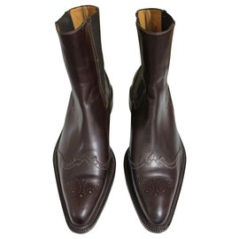 Trickers-Tricker's London Country boot-Brown