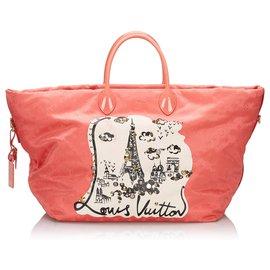 Louis Vuitton-Louis Vuitton Pink Monogram Nouvelle Vague Beach Bag-Pink