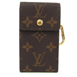 Louis Vuitton-Porte-clés Porto Crevat monogram marron Louis Vuitton-Marron
