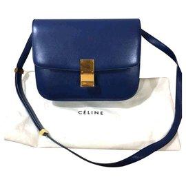 Céline-Sac Celine bleu moyen-Bleu