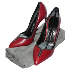 Tom Ford-Tom Ford new burgundy leather pumps-Dark red