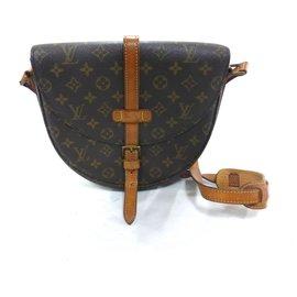 Louis Vuitton-CHANTILLY GM MONOGRAM-Brown
