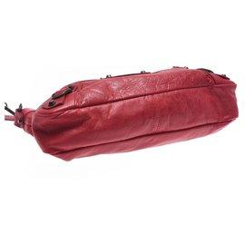 Balenciaga-Sac à main Balenciaga Vintage-Rouge