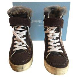 Philippe Model-Sneakers-Brown