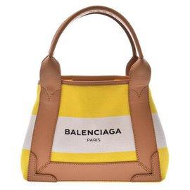 Balenciaga-Balenciaga Cabas S-Jaune