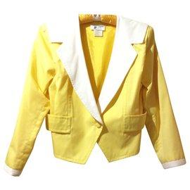 Courreges-Short jacket-Yellow