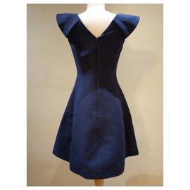 Halston Heritage-Dresses-Navy blue