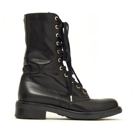 Chanel-CHECK BLACK FR40.5-Black