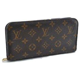 Louis Vuitton-Louis Vuitton Zippy Wallet-Brown