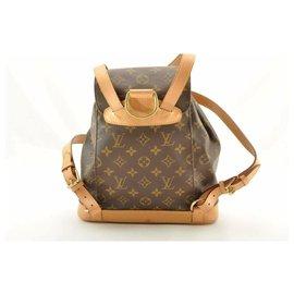 Louis Vuitton-Louis Vuitton Montsouris Backpack MM25-Brown
