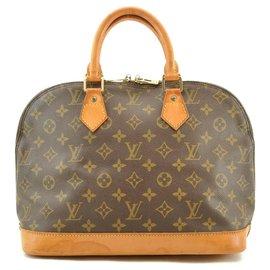 Louis Vuitton-Louis Vuitton Alma MM36-Brown