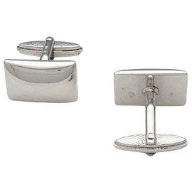 Alfred Dunhill-Silver Dunhill Cufflinks.-Other