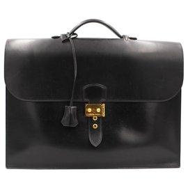 Hermès-Sac a Depeches-Black