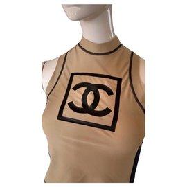 Chanel-Tops-Beige