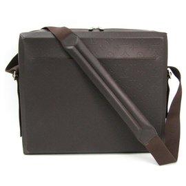Louis Vuitton-Louis Vuitton Black Monogram Glace Steve Monogram-Black