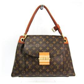 Louis Vuitton-Louis Vuitton Brown Monogram Olympe-Brown