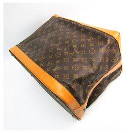Louis Vuitton-Louis Vuitton Brown Monogram Cruiser Bag 40-Brown