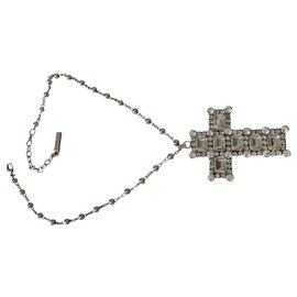 Dolce & Gabbana-Long necklaces-Silvery