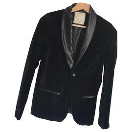 Zara-Boy Coats Outerwear-Black