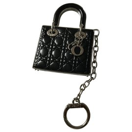 Christian Dior-Bag charms-Black