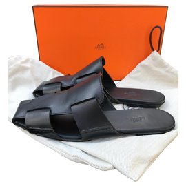Hermès-Mules-Noir