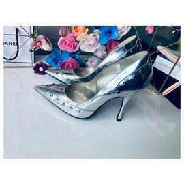 Dolce & Gabbana-Dolce & gabanna shoes-Silvery,Grey