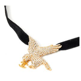 Chanel-CC SHINY BIRD-Golden
