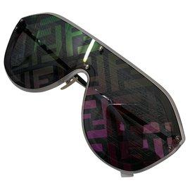 Fendi-lunettes de soleil lunettes fendi fabuleuses lunettes de soleil unisexes-Multicolore