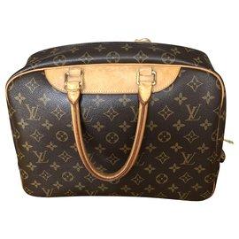Louis Vuitton-Deauville-Brown