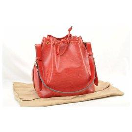 Louis Vuitton-Louis Vuitton Epi Petit Noe-Red
