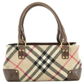 Burberry-Burberry Nova Check Hand Bag-Other