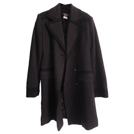 Chanel-Long Coats Chanel Uniform Men-Black