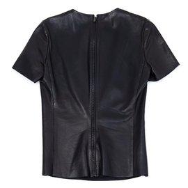 Céline-BLACK LEATHER FR36-Noir