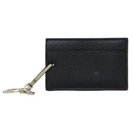 Balenciaga-LUGGAGE TAG KEY / CARD HOLDER NEW-Black