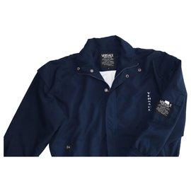 Versace-Vestes Blazers-Bleu Marine