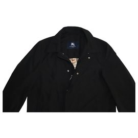 Burberry-Men Coats Outerwear-Black