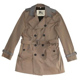 Burberry-Men Coats Outerwear-Brown
